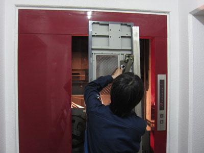 内扉の修理